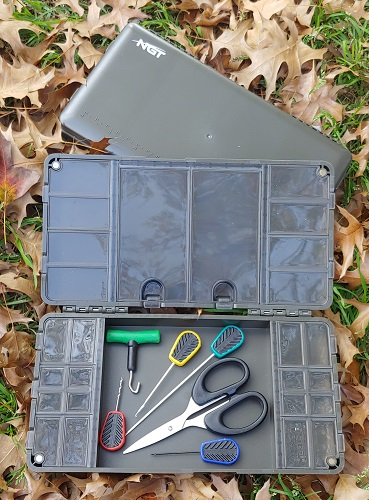NGT XPR PLUS Box Terminal Tackle and Rig Board Magnetic Tackle Box